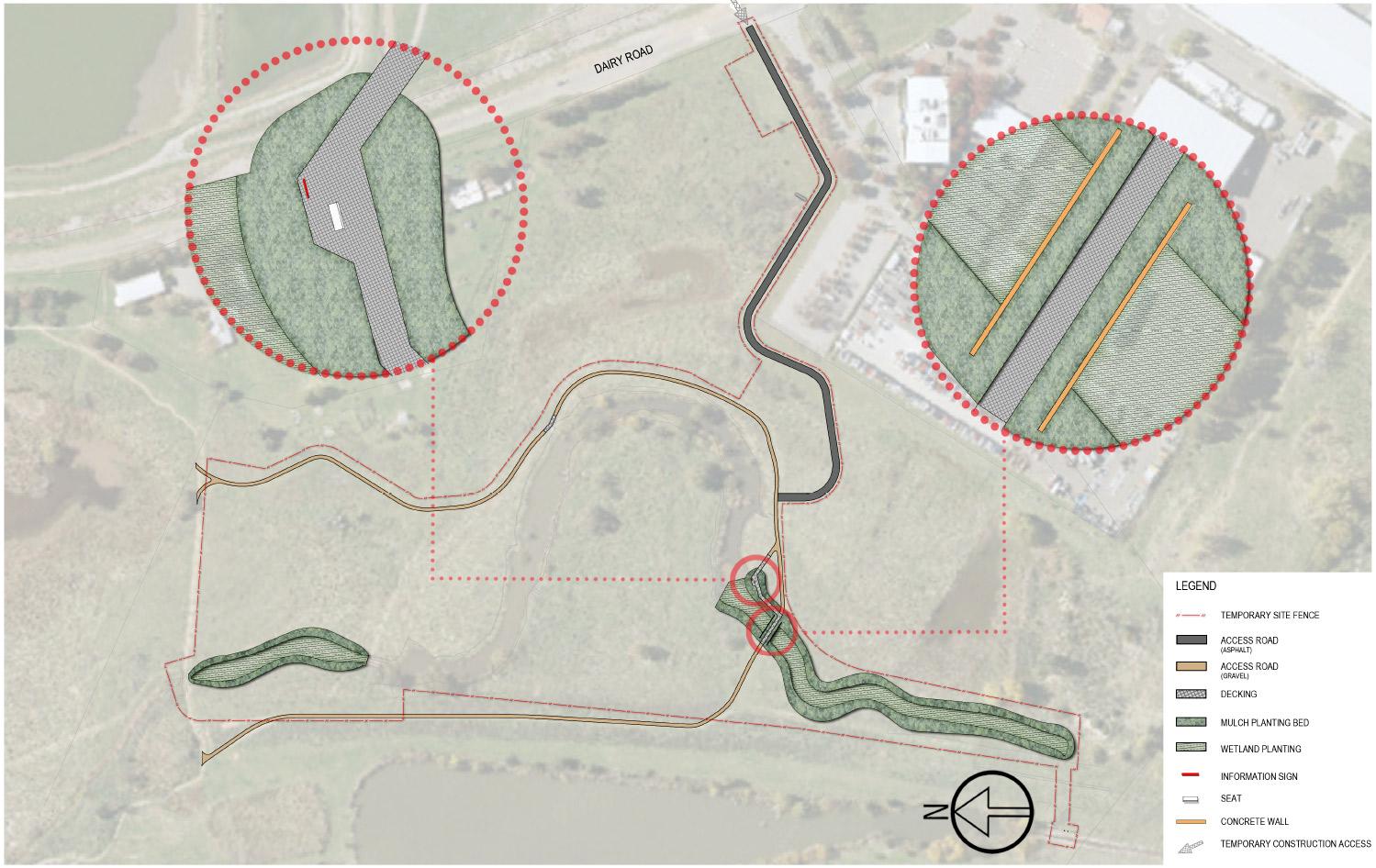 Wetlands - Fyshwick - landscape plan