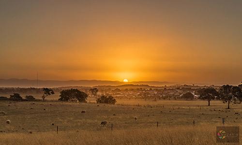 Sunset image by Sujay Krishnamoorthi