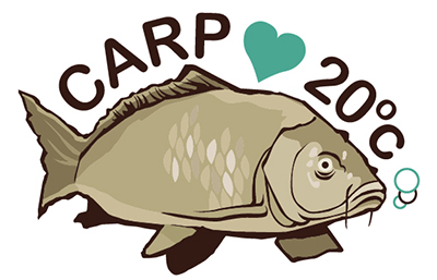 Carp love 20 degrees celsius