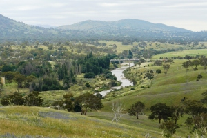 View over the Molonglo River