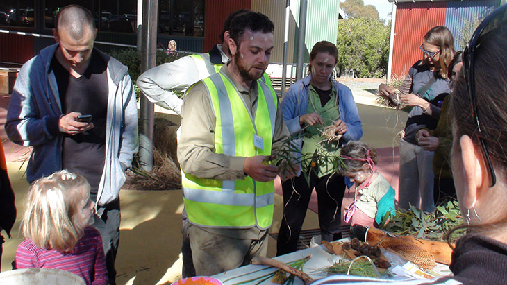 The Directorate contributing to Reconciliation Planting Day at the the Cultural Centre, Yarramundi Reach
